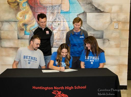 Bethel College signs HNHS's Cogar