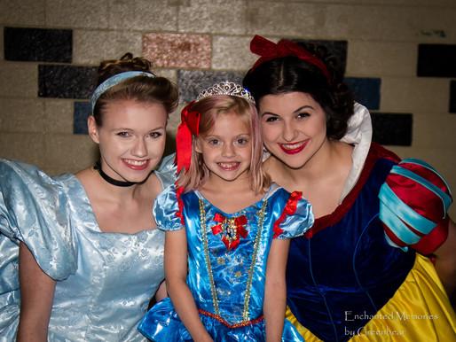 Enchanted Princess Kiana and Princess Noel celebrate Aira's 7th Birthday