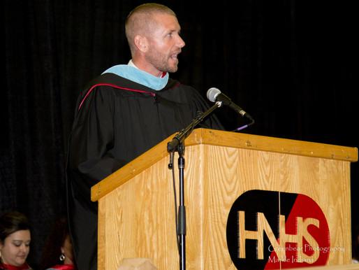 Dr. Russ Degitz takes the helm at Huntington North