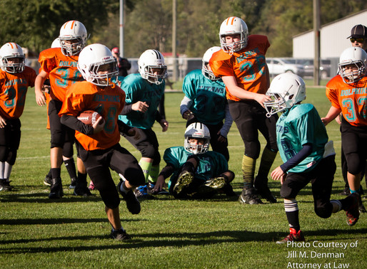 PAL Tackle Football 10-5-2019 Titans vs Dolphins and Steelers vs Bears