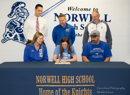 Norwell's Topp heads to St. Francis
