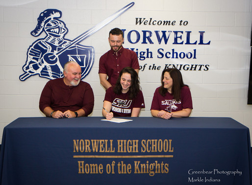 The Knights Cyrus signs with Southern Illinois