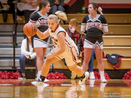 Bluffton vs Daleville Girls Basketball JV and Varsity Video Clips