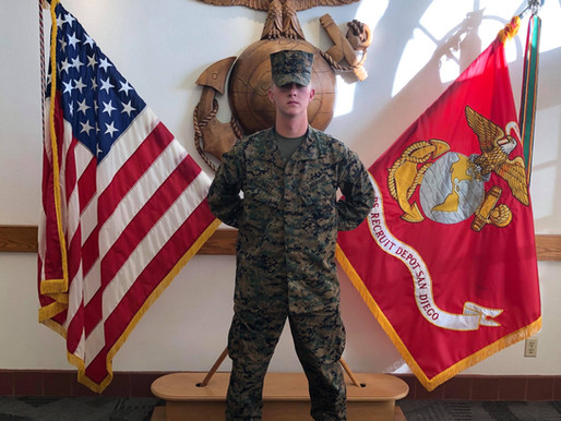 Honoring our Active Military Braden Hale
