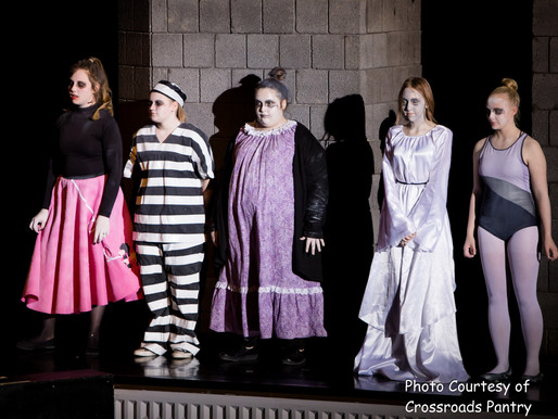 Riverview's presentation of    The Addams Family.