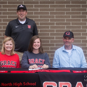 HNHS's Anderson Signs with Grace