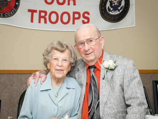 Williams Celebrate 75th Wedding Anniversary