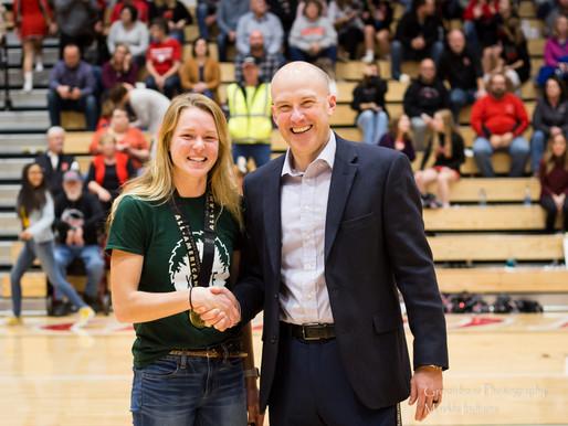 Huntington North Honors National Champion Hannah Stoffel