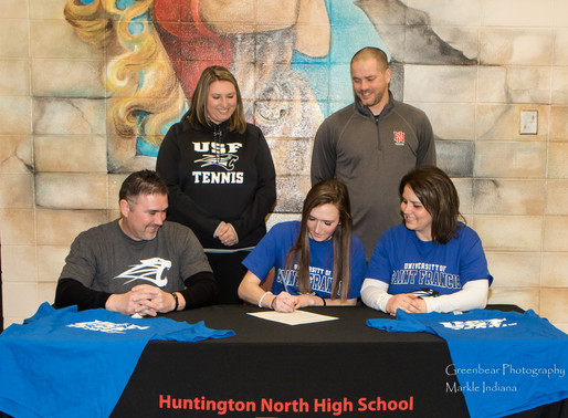 HNHS's Henline on her way to USF