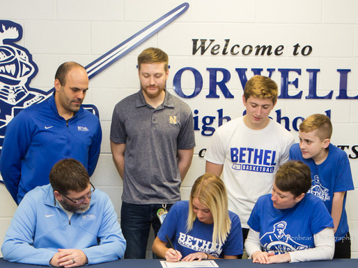Norwell's Morgan signs with Bethel University