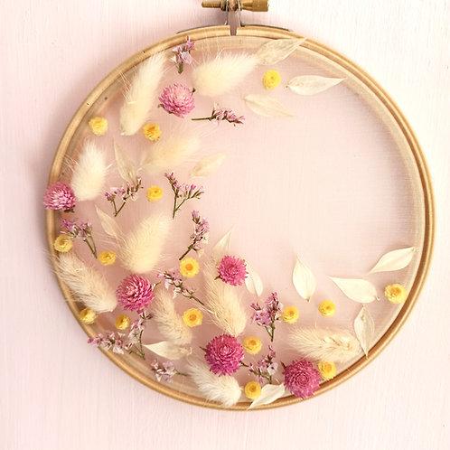 Limonium - Le tambour à broder fleuri