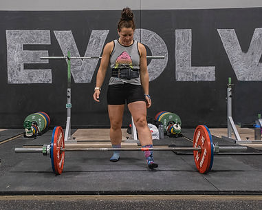 Savannah - MOCK COMP - Deadlift Attempt