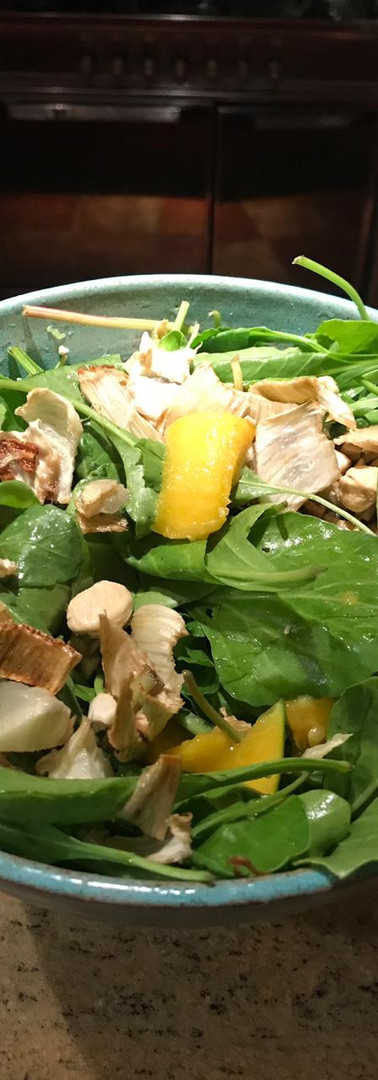 Baby Spinach and Citrus Salad