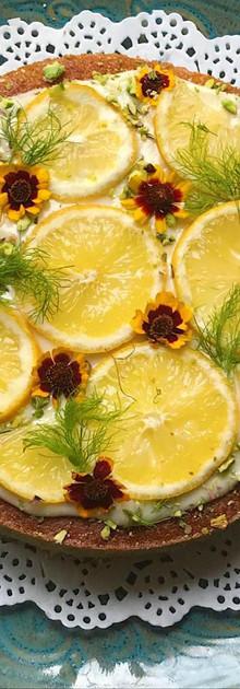 Fennel, Lemon and Almond Cake
