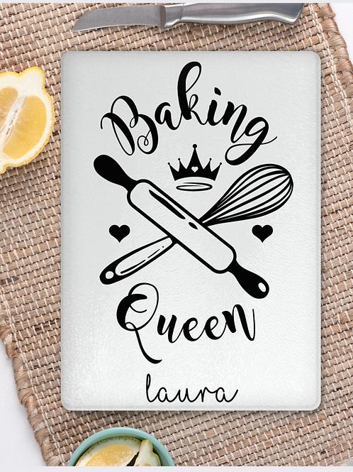 Baking Queen Chopping Board