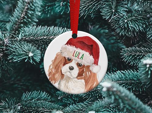 King Charles Christmas Tree Ornament