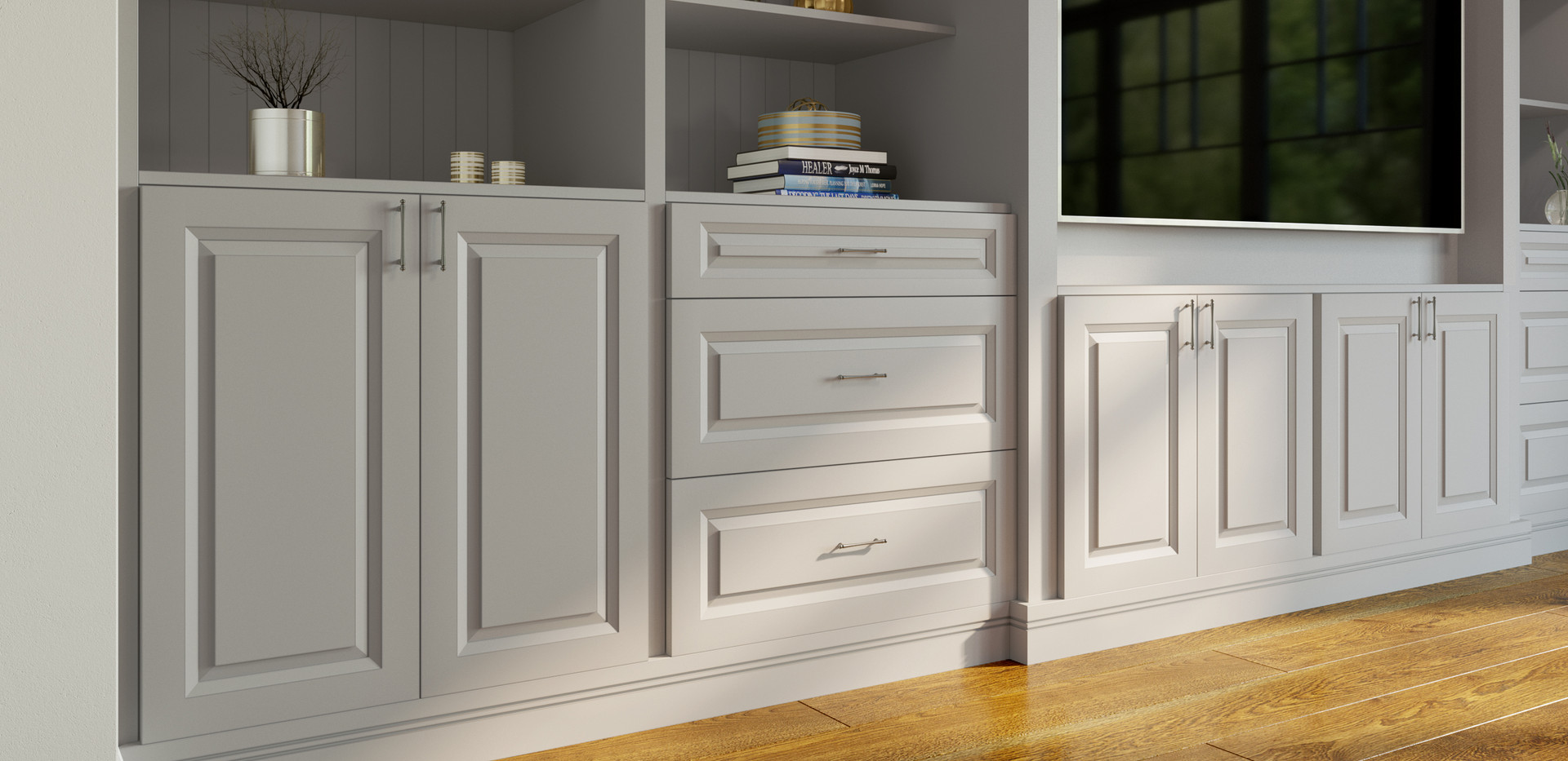 TD Built-Ins Close-Up (Full-Height Base)