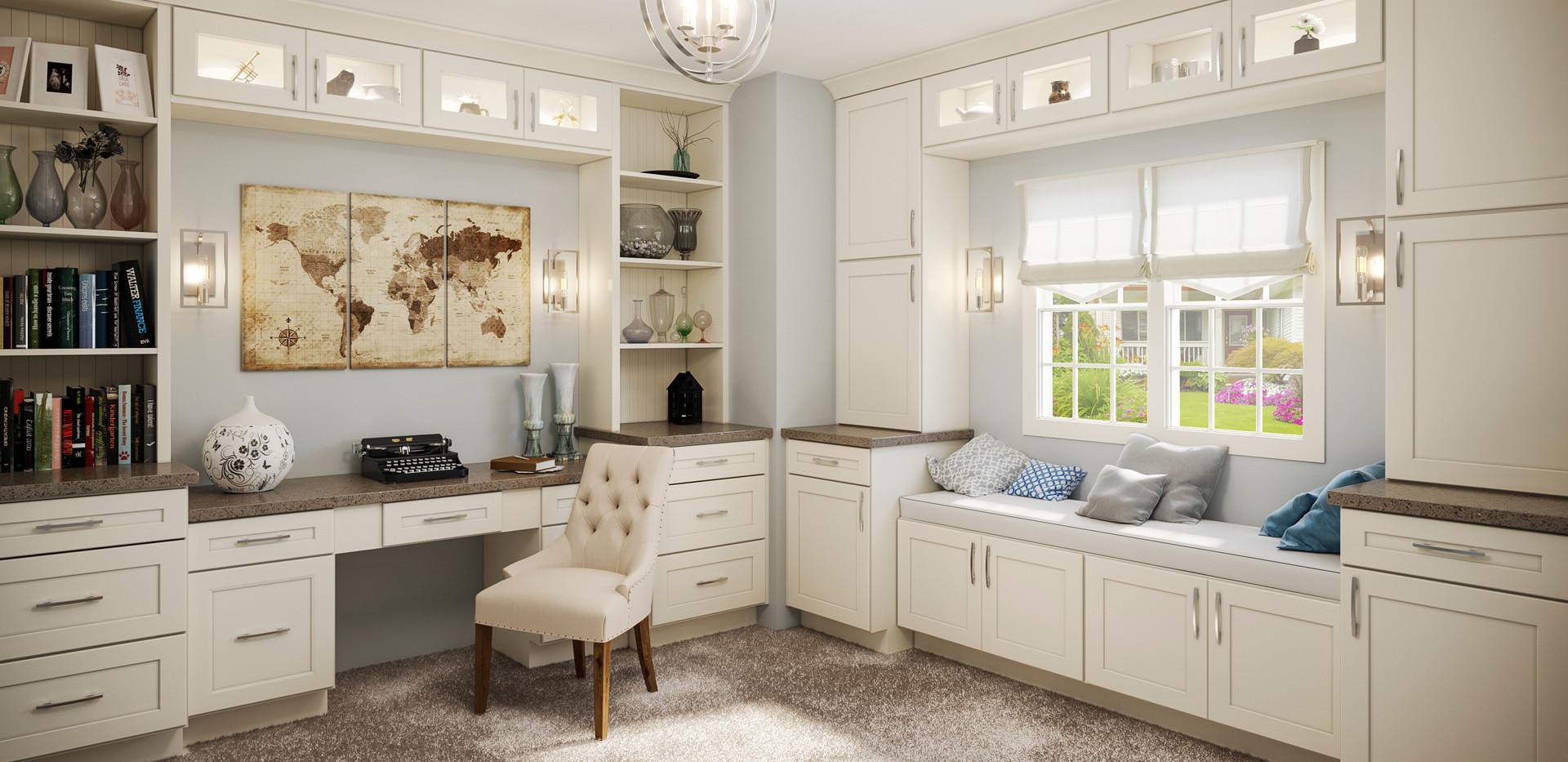 Shaker Antique White Home Office.jpg