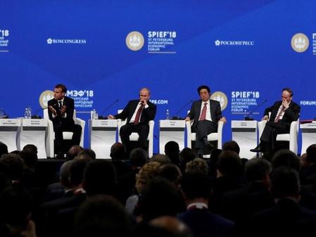 The 22nd St. Petersburg International Forum - 2018.