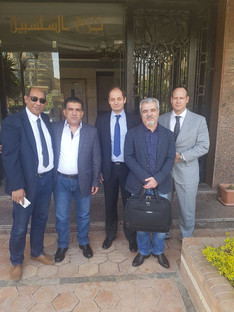 Series of working meetings of the consortium RNGS OUAIS took place in Cairo