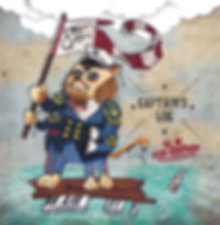 8Foot Felix Captain's Log EP Art UK Exp-EditionBandcamp