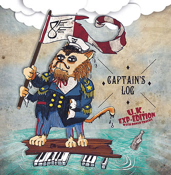 8Foot Felix Captain's Log EP Art UK Exp-EditionBandcamp