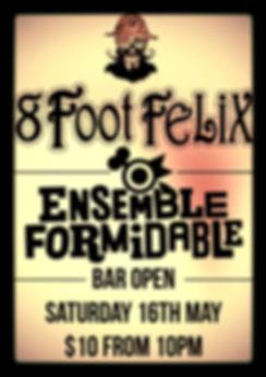 8Foot Felix play Open Studio 10th October