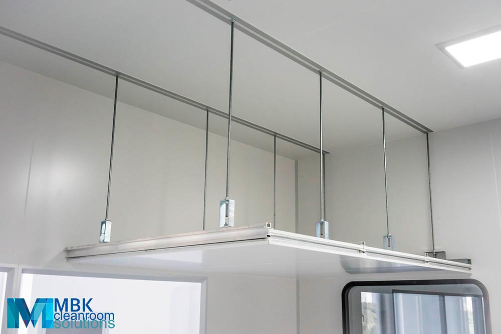 Обслуживаемый потолок чистого помещения