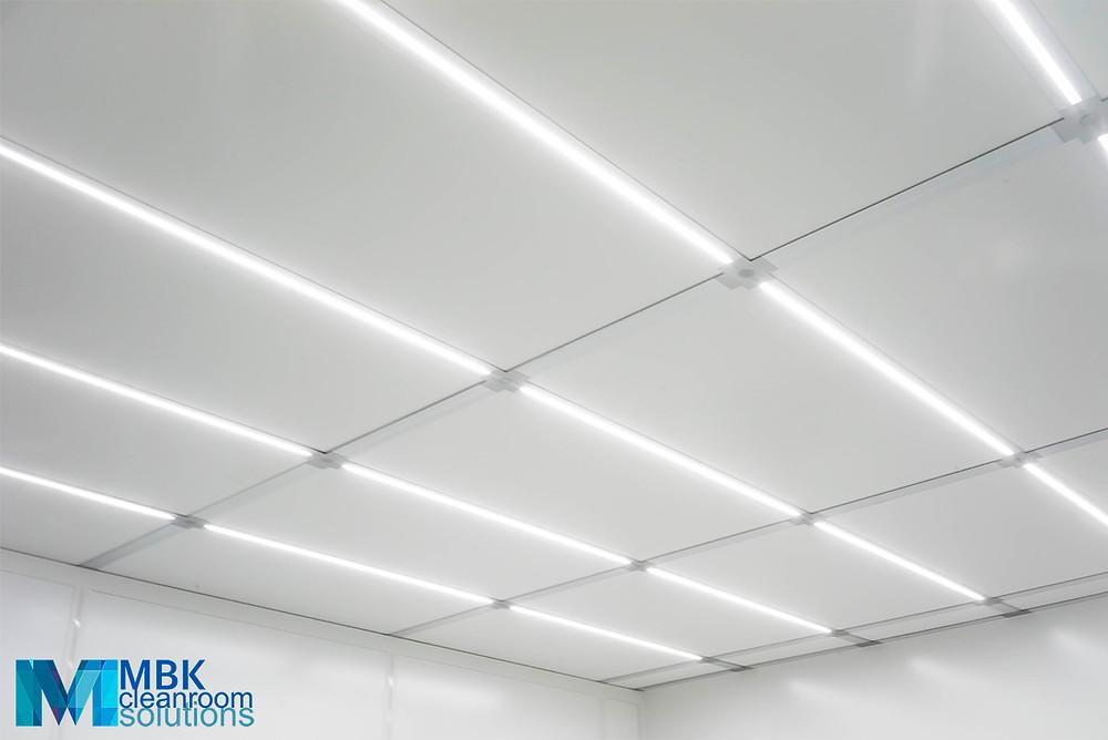 освещение в чистых помещениях