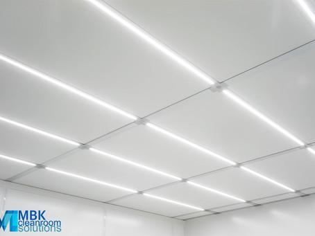 Освещение в чистых помещениях класса ISO 5-4