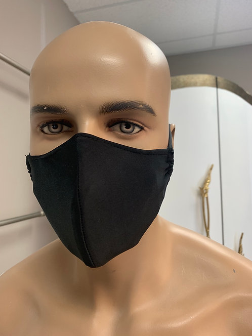 Solid unisex Fashion Mask with changeable filter