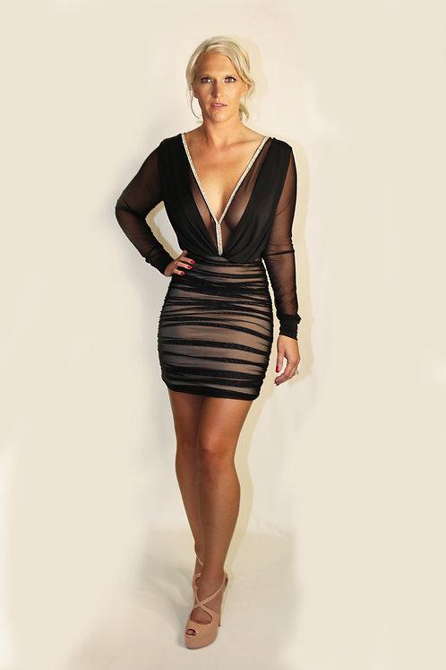 Vs1146 Kat Mesh Dress