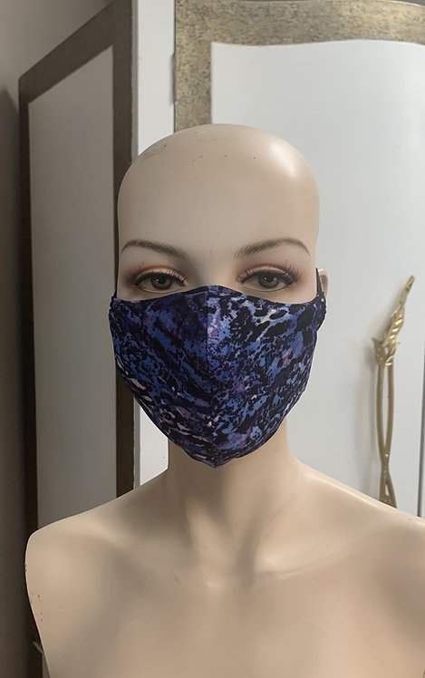 Purple blue animal Fashion Mask with changeable filter
