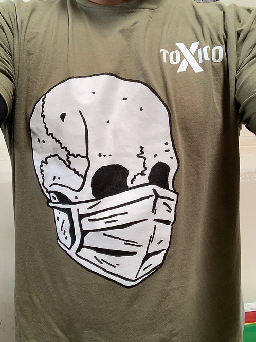 Toxico Skull Men's/Unisex T-shirt