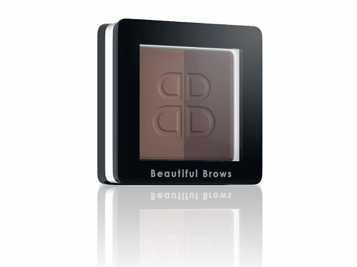 Beautiful Brows Duo eyebrow powder - Light Brown / Medium Brown