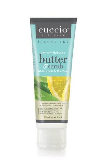 White Limetta & Aloe Vera Butter Scrub Tube