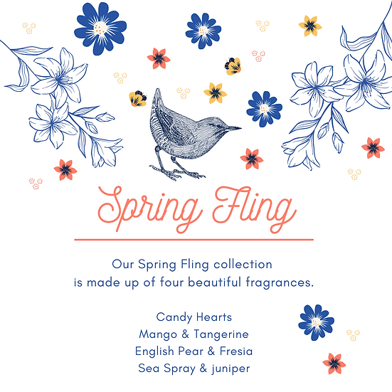 Spring Fling Wax Melt Collection
