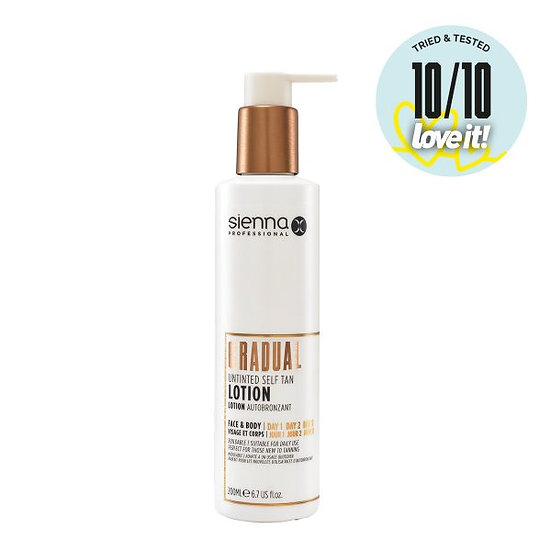 Gradual Untinted Self Tan Lotion 200ml
