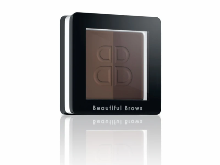 Beautiful Brows Duo Eyebrow Powder - Dark Brown / Chocolate