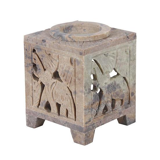 Soap Stone Elephant Burner
