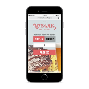 Meats and Malts Web Ordering