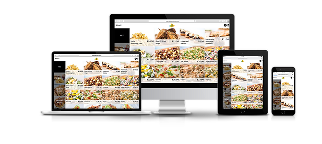 eunoia web app is responsive on different displays