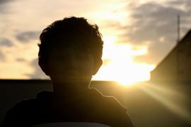 Child On Sunset