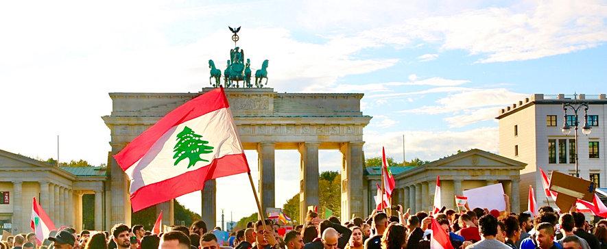 Lebanese Demonstration In Berlin