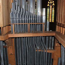 Relevage de l'orgue du temple