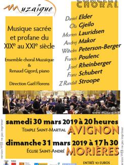 L'ensemble choral Muzaïque 30 Mars 2019
