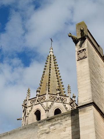 flèche du temple Saint-Martial en Avignon