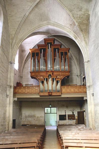 l'orgue du temple st-martial