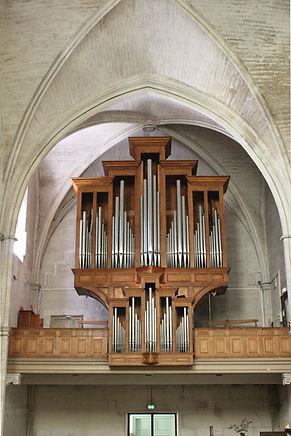 l'orgue de P.Quoirin