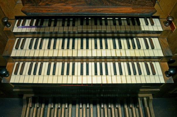 Claviers et pédalier